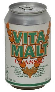 Vitamalt Classic, canette de Vitamalt 33 cl