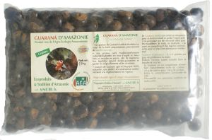 Graines de Guarana BIO, 1  kg