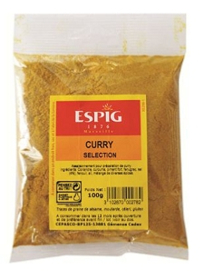 Curry sélection, 100g