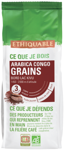Café Congo grains BIO