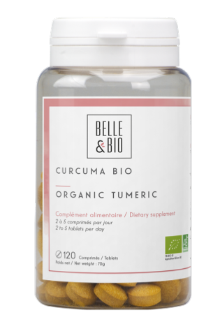 Curcuma / Piperine BIO, 120 comprimés