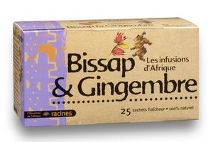 Infusion Bissap  Gingembre