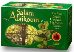 Thé vert à la Menthe Nanah, infusettes