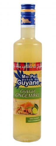 Punch gingembre citron Délices de Guyane