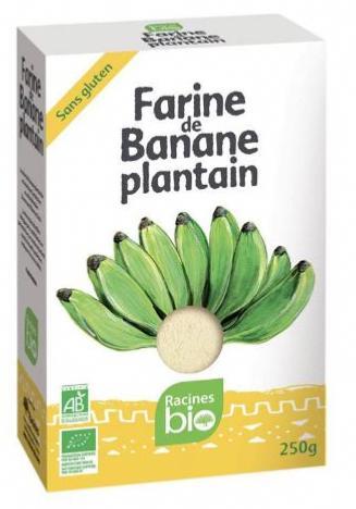 Farine de banane plantain BIO