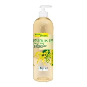 Gel moussant Passion des Iles Ylang-Ylang BIO COSMO NATUREL