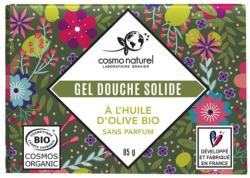 Gel douche solide à l'huile d'olive BIO 85 g  - COSMO NATUREL