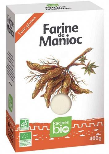 Farine de manioc 400 g BIO - RACINES