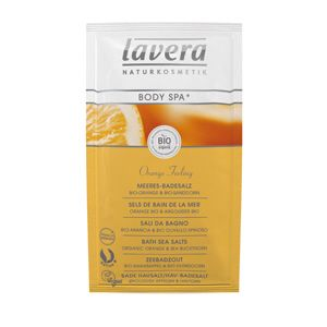 Sels de bains Orange Argousier BIO LAVERA