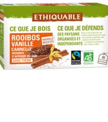 Rooibos vanille & cannelle, infusettes BIO