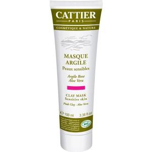 Masque à l'Argile Rose Aloe Vera BIO CATTIER
