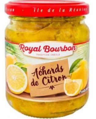 Achards de citron - Royal Bourbon