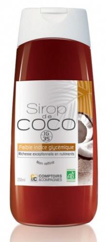 Sirop de fleurs de noix de coco bio, 250 ml - COMPTOIRS & COMPAGNIES