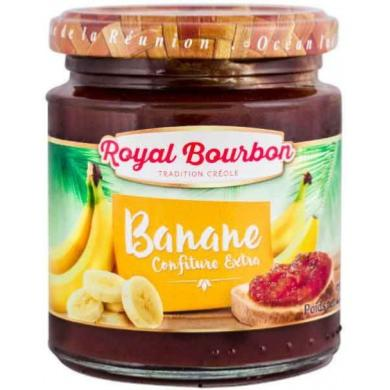 Confiture de banane Extra - ROYAL BOURBON
