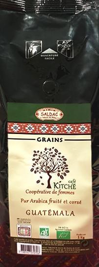 Café Guatemala  BIO en GRAINS 1kg